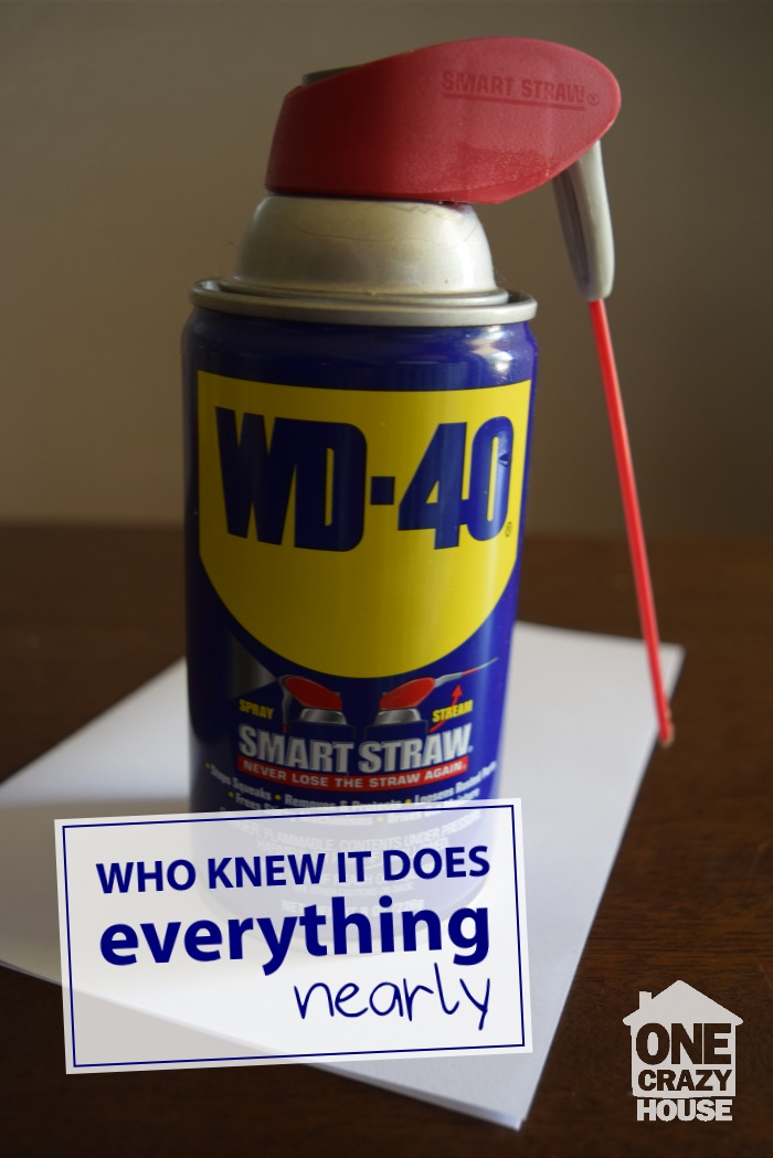 How to Use WD40 Around the House
