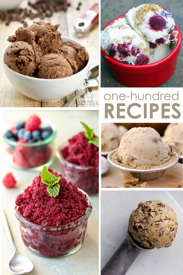 100 recipes of ice cream