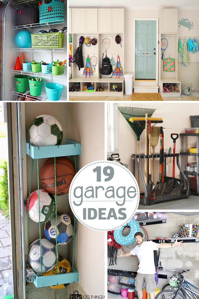 Garage organization tips 18 ways to find more space in for Garage storage plans