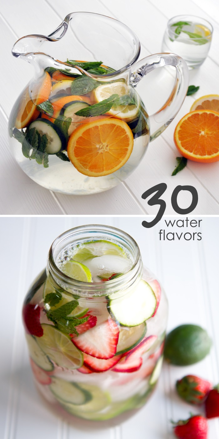 30 diy flavors of water