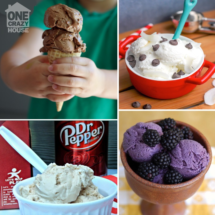 How to make ice cream at home