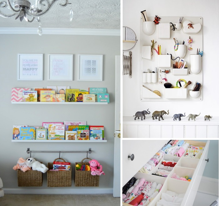 Decorate A Nursery With Storage