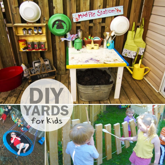 diy yards for kids