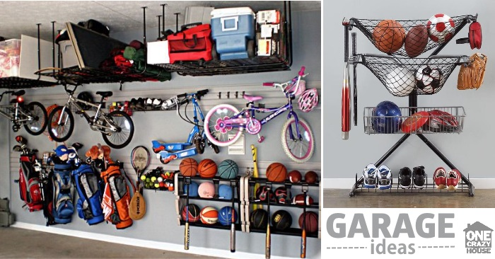 organize garage inspiration
