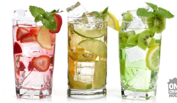 water flavor ideas using fruit