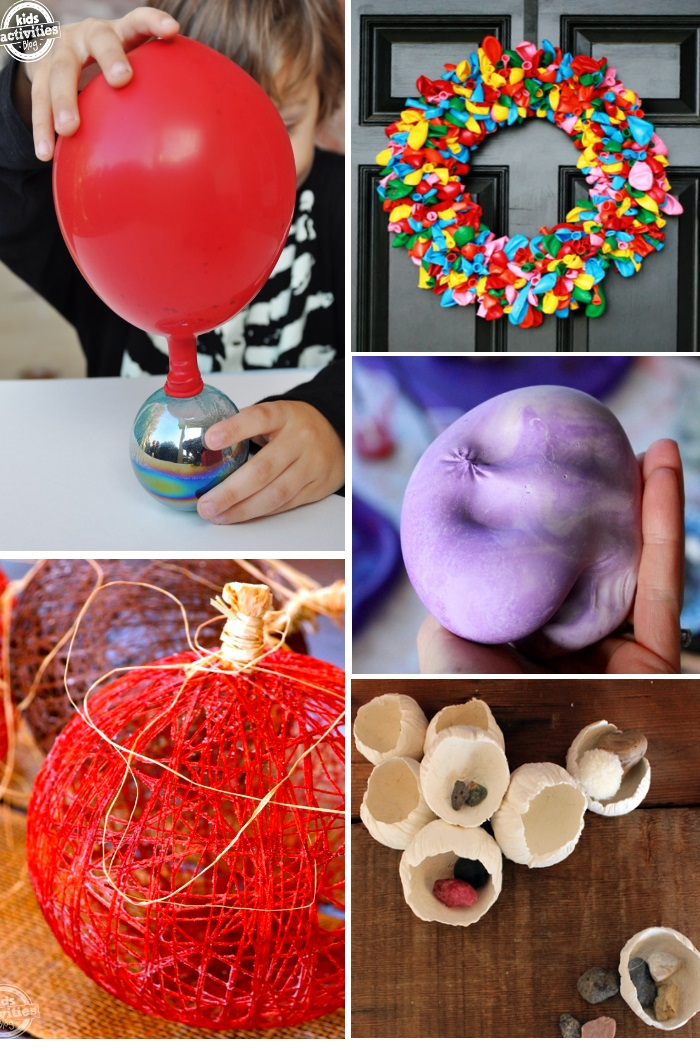 ways to create with balloons