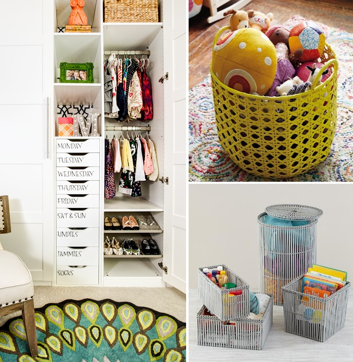 Ways To Organize A Baby Room