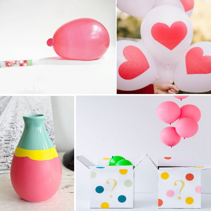 ways to use balloons in a party