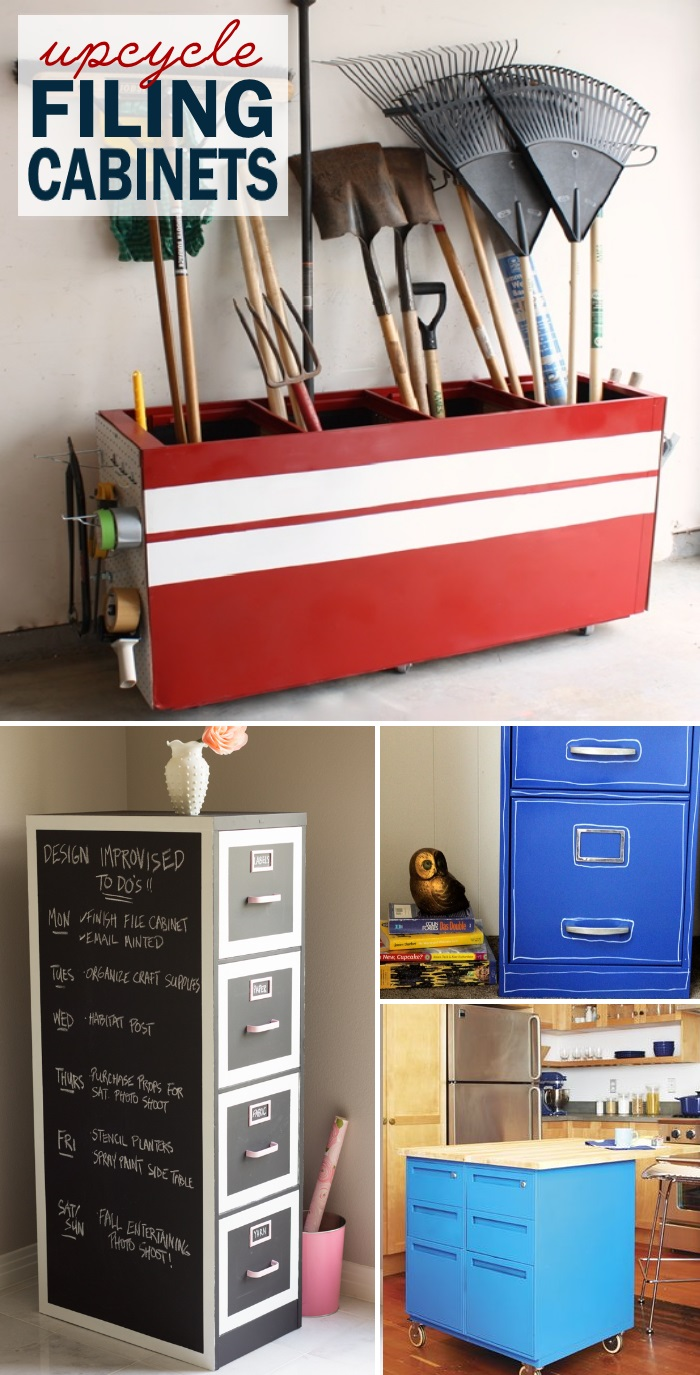 What To Do With An Old Filing Cabinet
