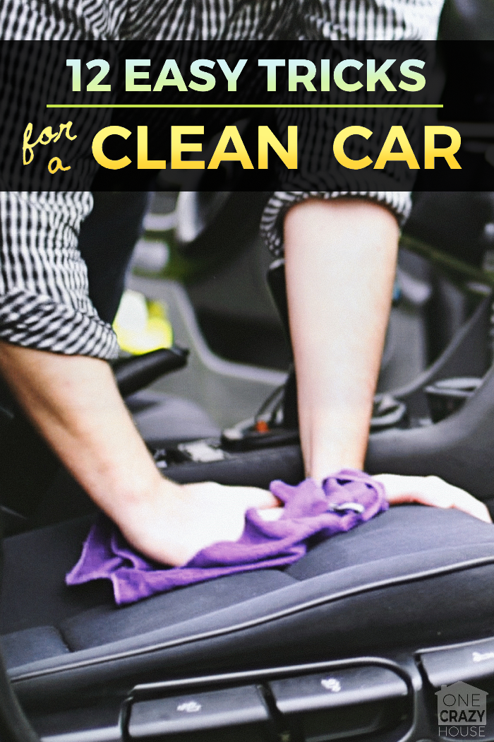 12 Genius Tips To Help You Clean the Car- Detail it in an Hour