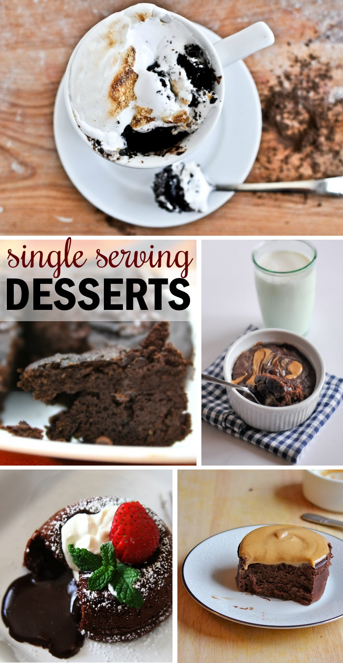 Chocolate Single Desserts