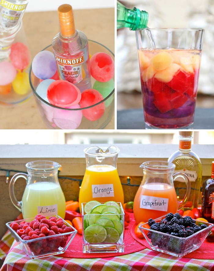 Drink ideas for a party