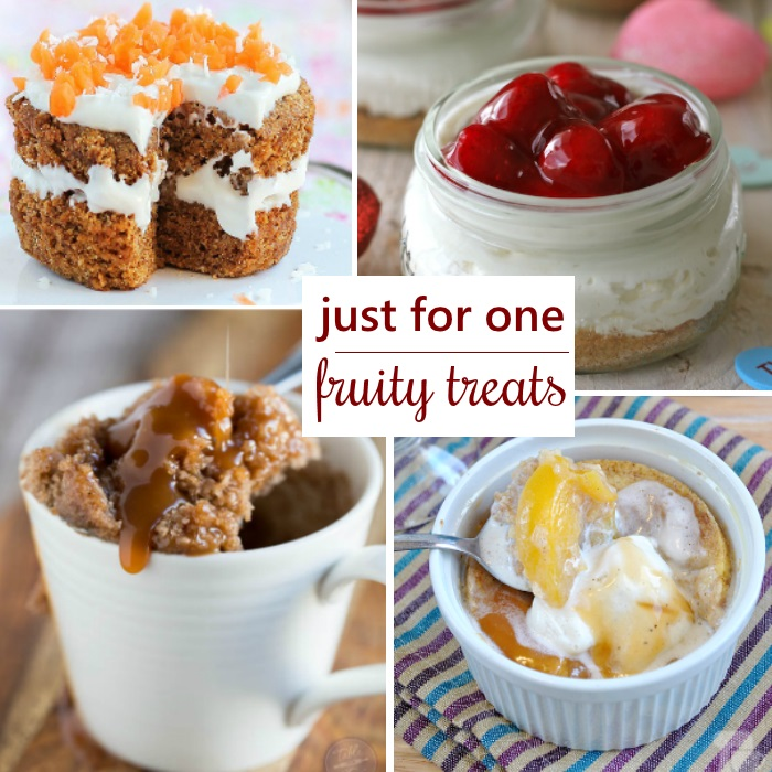 Fruity Desserts For One