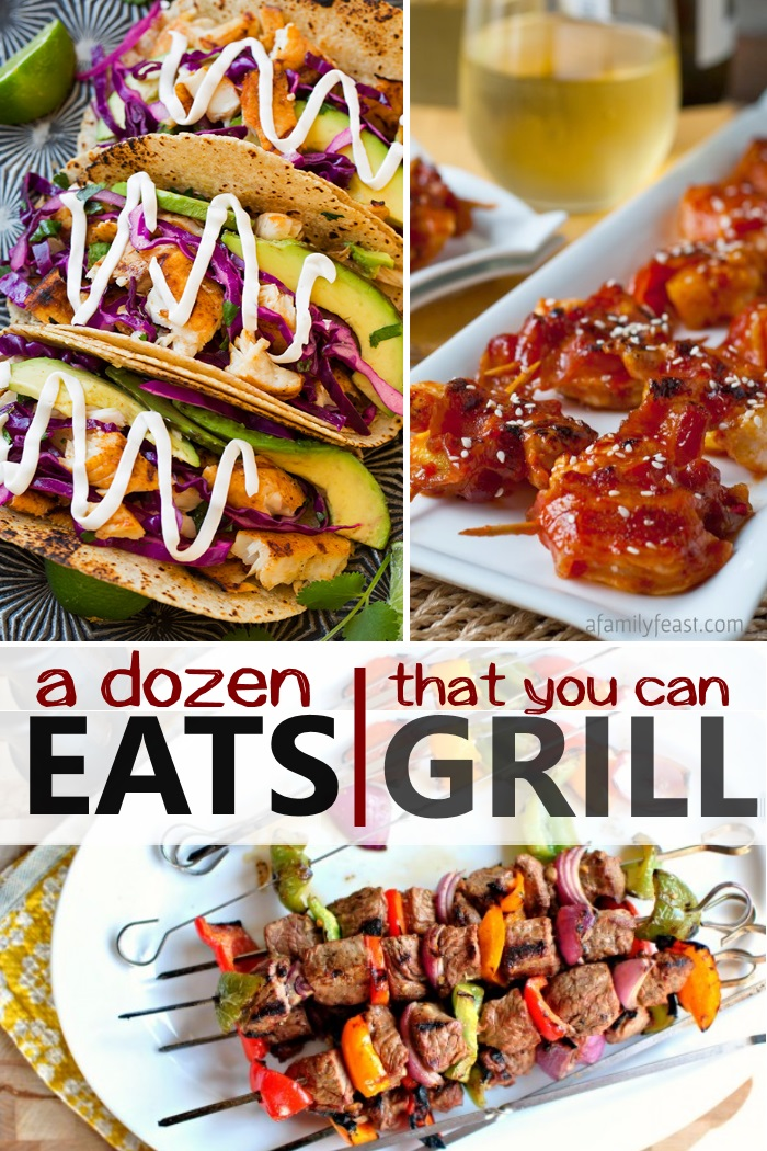 grilled entree recipes