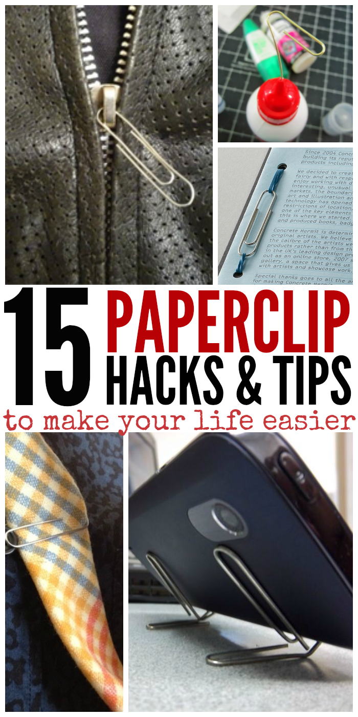 From getting your bra to fit just right to making a stand for your phone on the spot, your day just got a little easier thanks to these clever paperclip lifehack tips.
