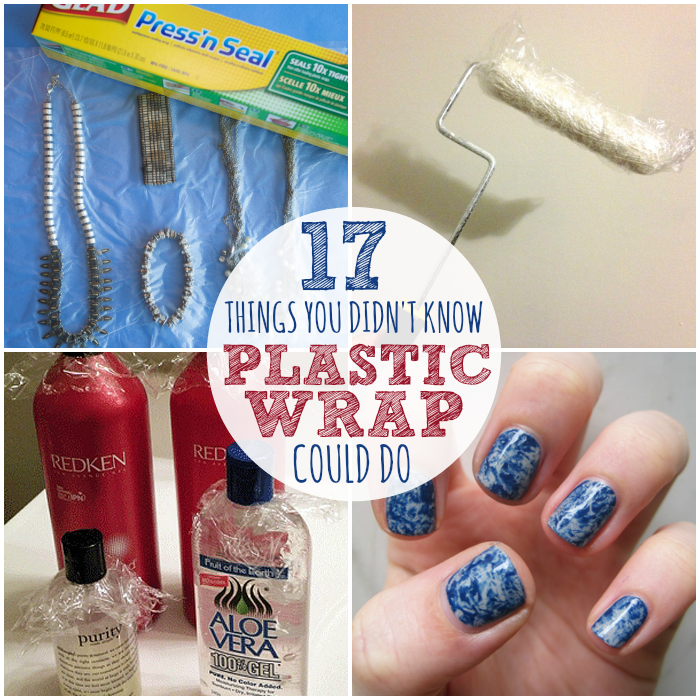 uses for plastic wrap