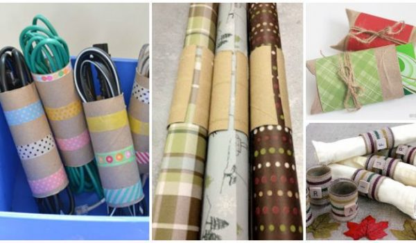 Amazingly Clever Toilet Paper Tube Hacks & Crafts