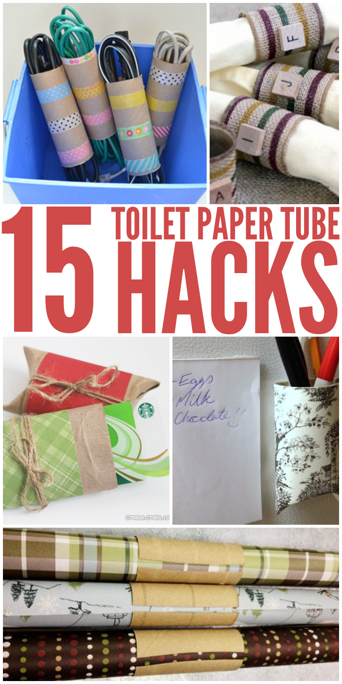 Amazingly Clever Toilet Paper Tube Hacks Crafts