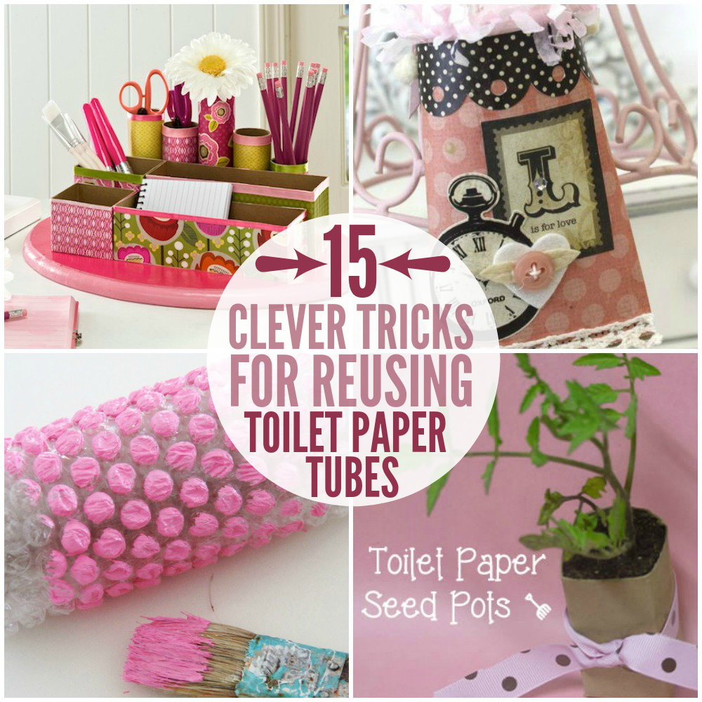 Amazingly clever toilet paper tube hacks crafts clever tricks for reusing toilet paper tubes jeuxipadfo Choice Image