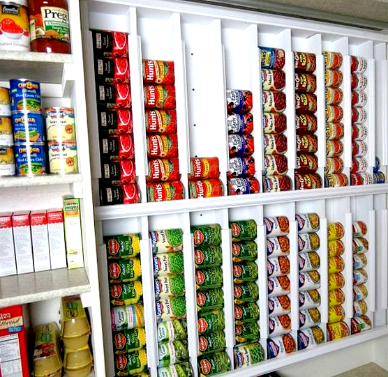 Effective Pantry Shelving Designs For Well Organized: 16+ Pantry Organization Ideas That Your Kitchen Will Love