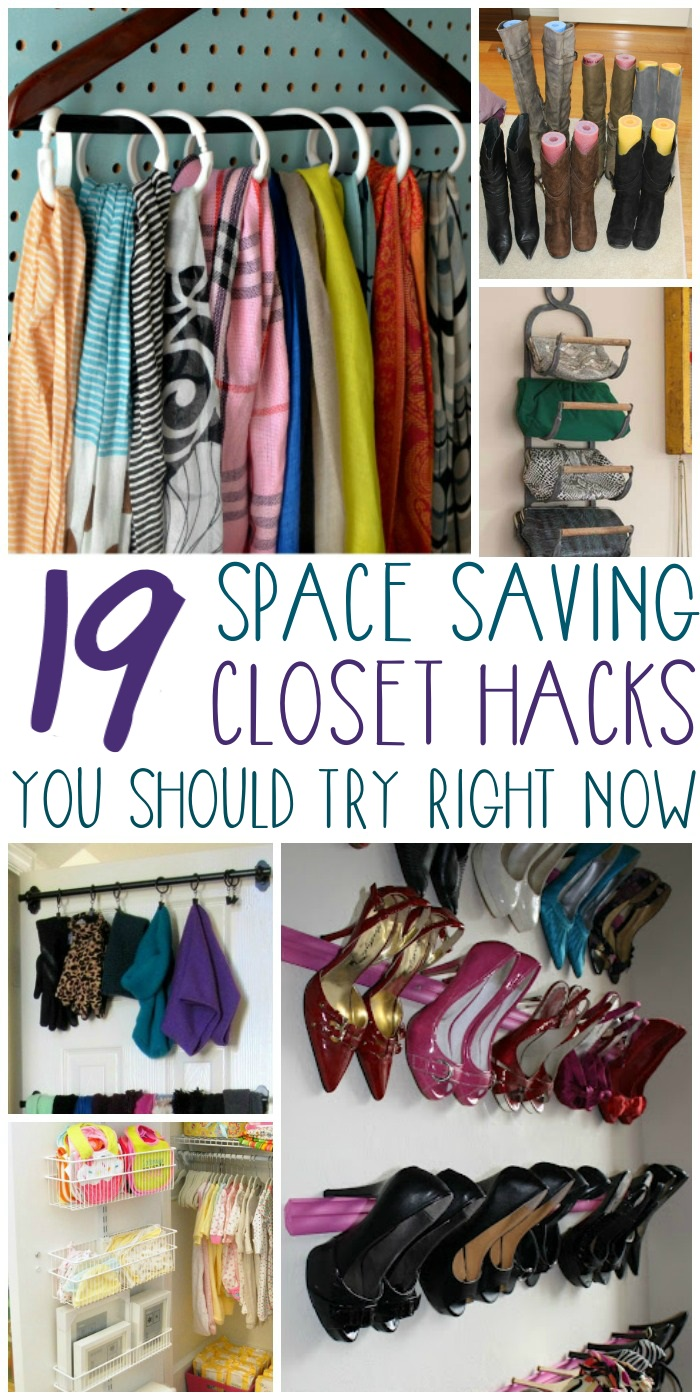 But Even The Smallest Closets Can Be Neat And Organized With A Few Smart  Tricks. From Your Scarves To Your Shoes, Here Are 17 Closet Organization  Ideas To ...