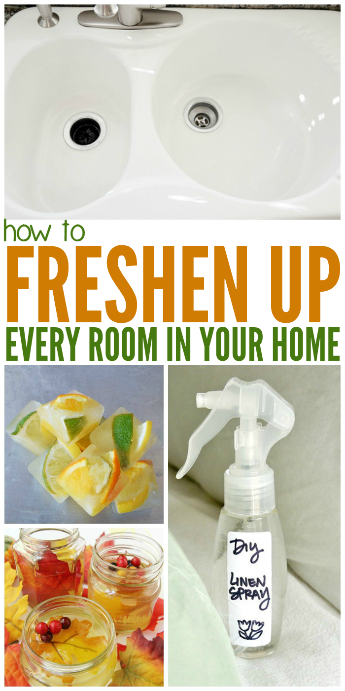 Get rid of those annoying smells, big or small, these great DIY tips and tricks.