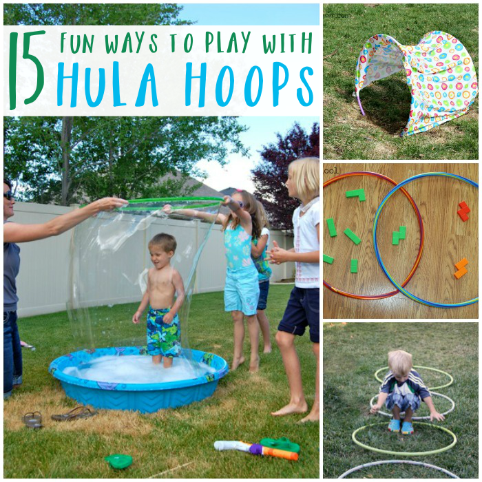 Fun Ways To Play With Hula Hoops