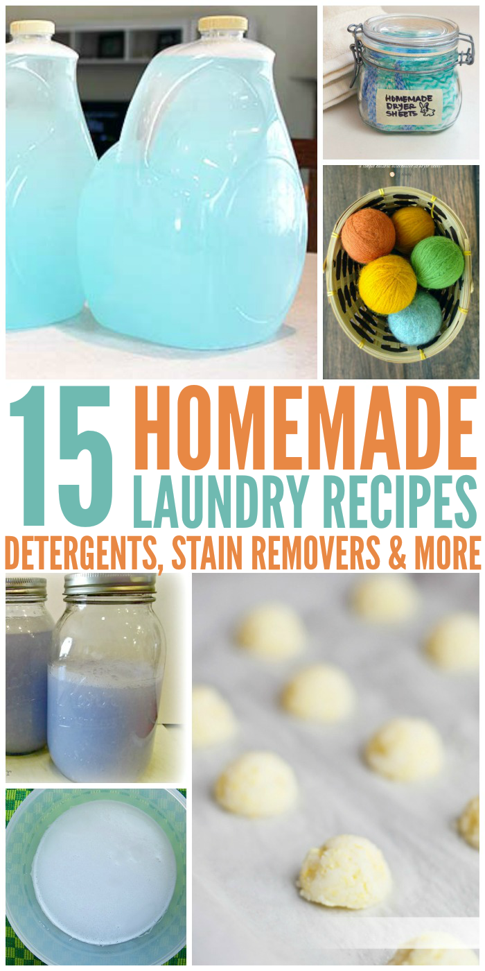 Homemade Laundry Recipes