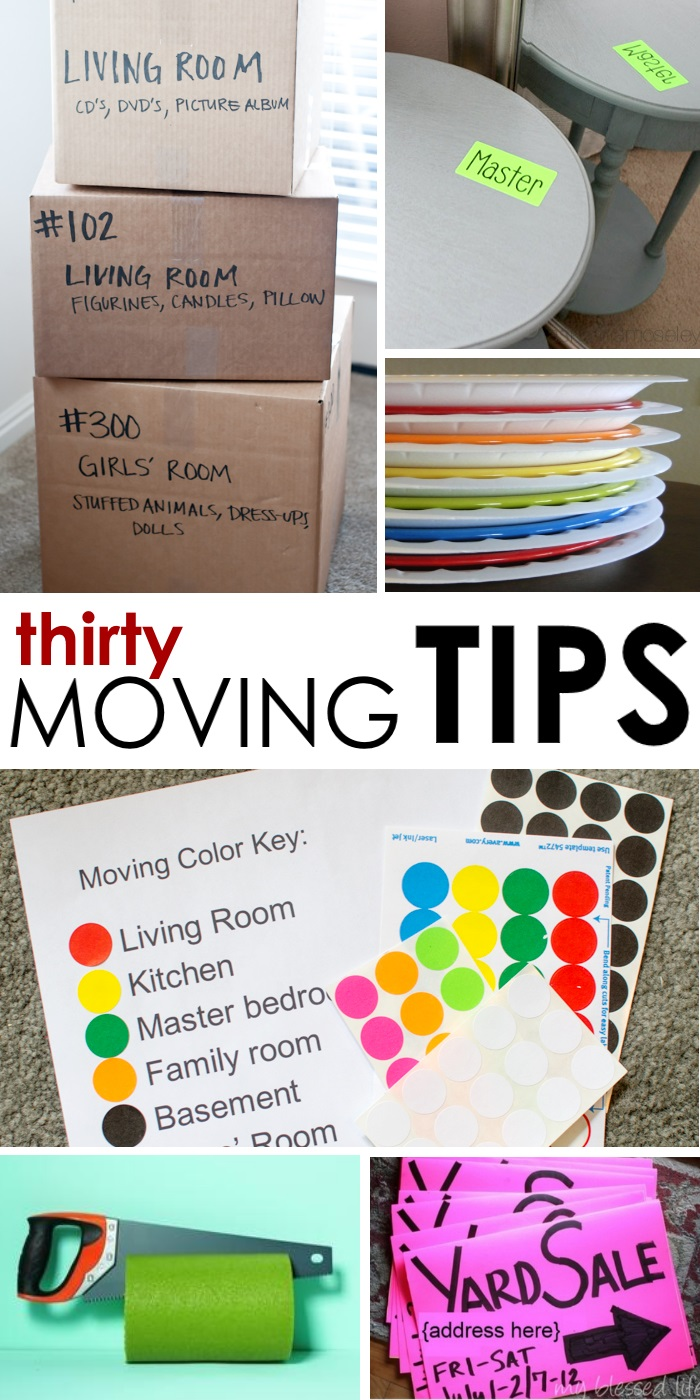 Genius moving ideas and tips