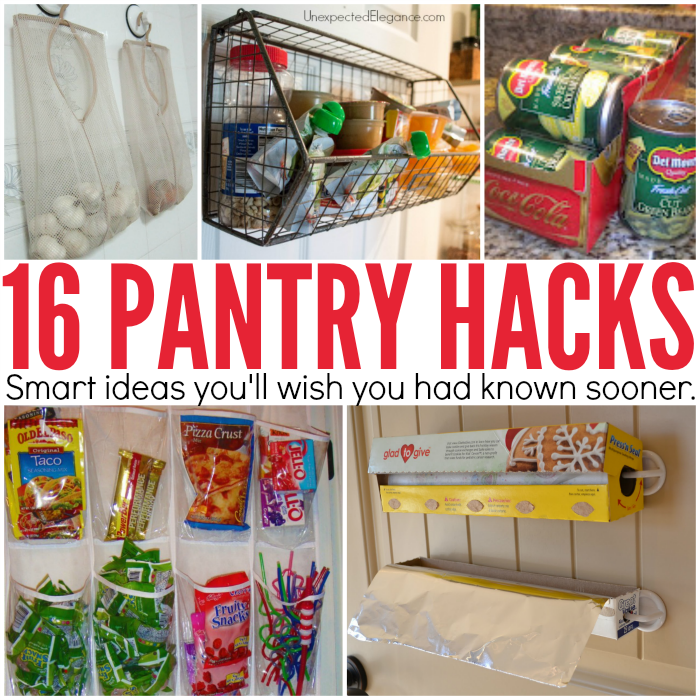 Inexpensive Kitchen Storage Ideas: 16+ Pantry Organization Ideas That Your Kitchen Will Love