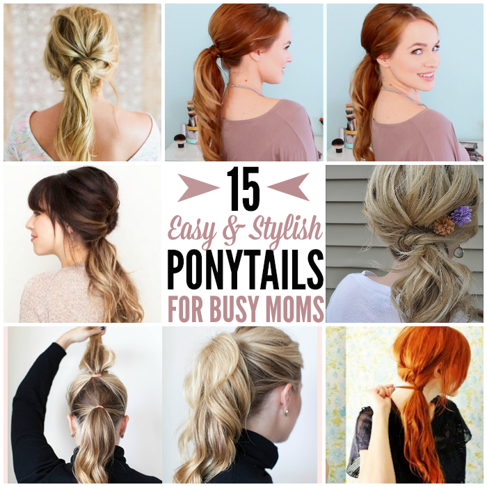 easy ponytail styles for hair 15 and ponytail ideas to spruce up hair 7794