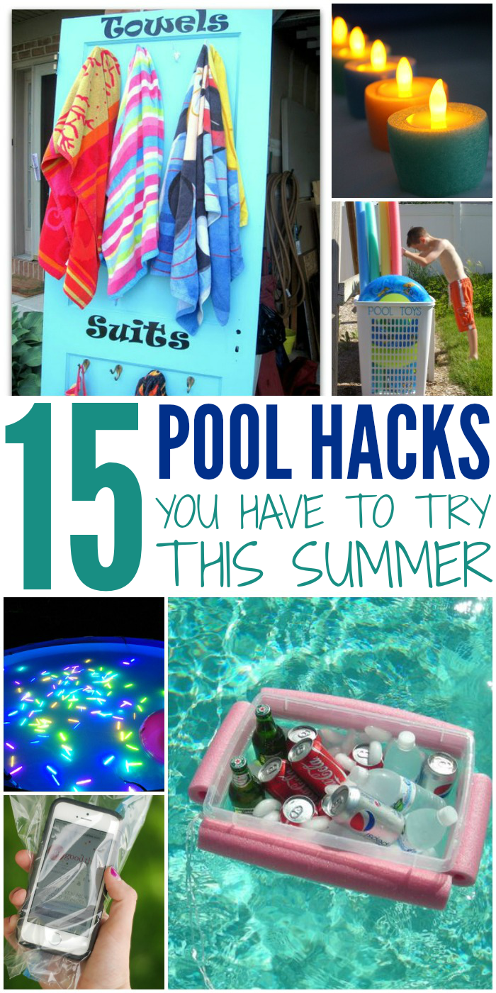 Make the most of your pool this summer with these awesome tips and DIY tricks.