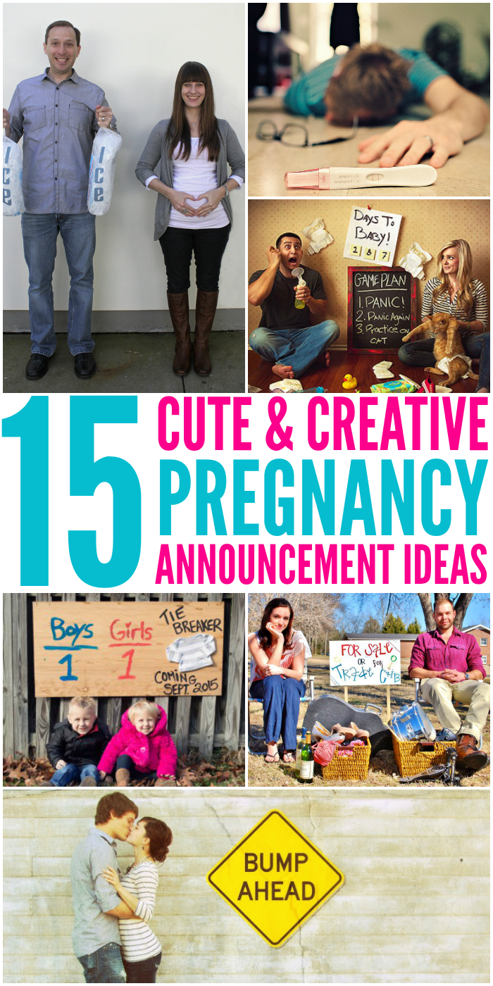 Fun Ways to Announce a Pregnancy