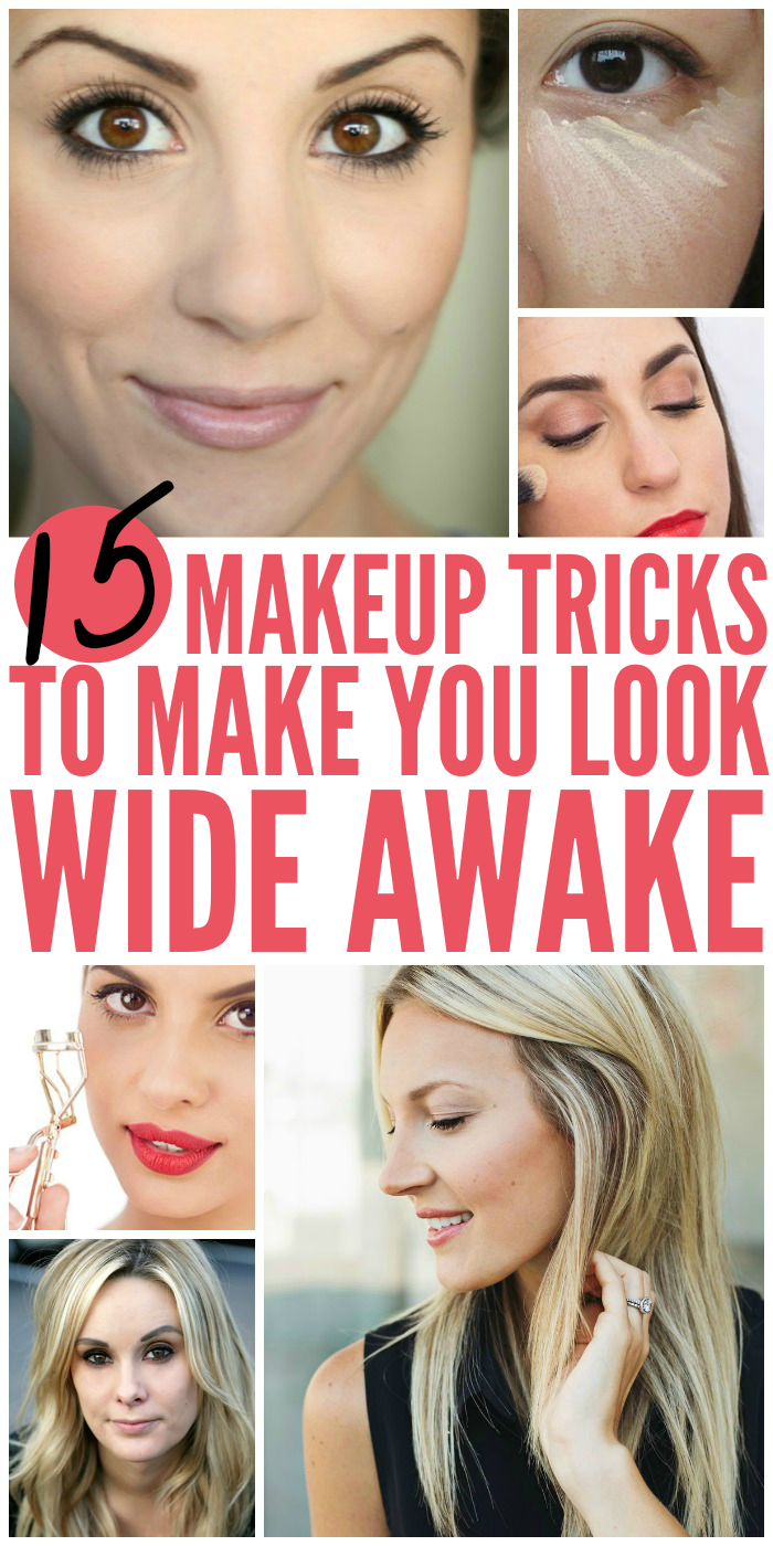 Makeup Tricks When You're Tired