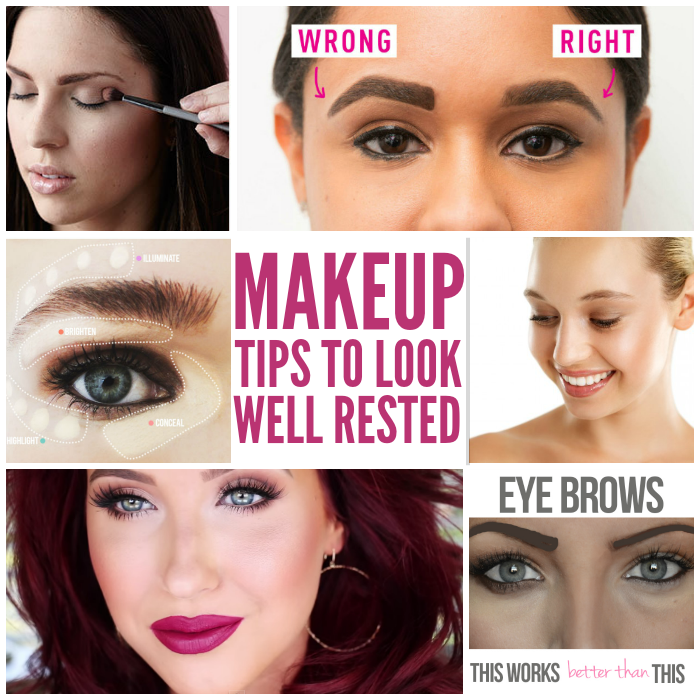 How to Use Makeup to Look Well-Rested