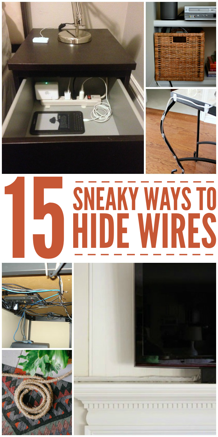 Cable Management 15 Ways To Hide Ugly Wires