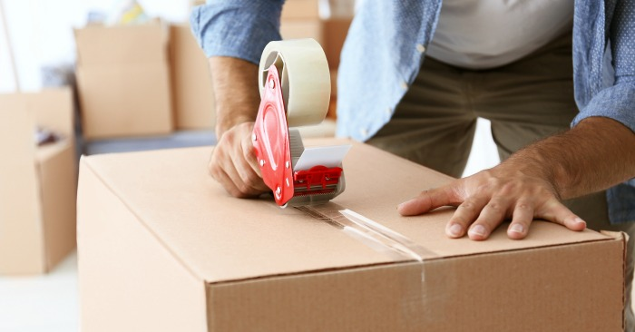 Moving Tips - One box a day