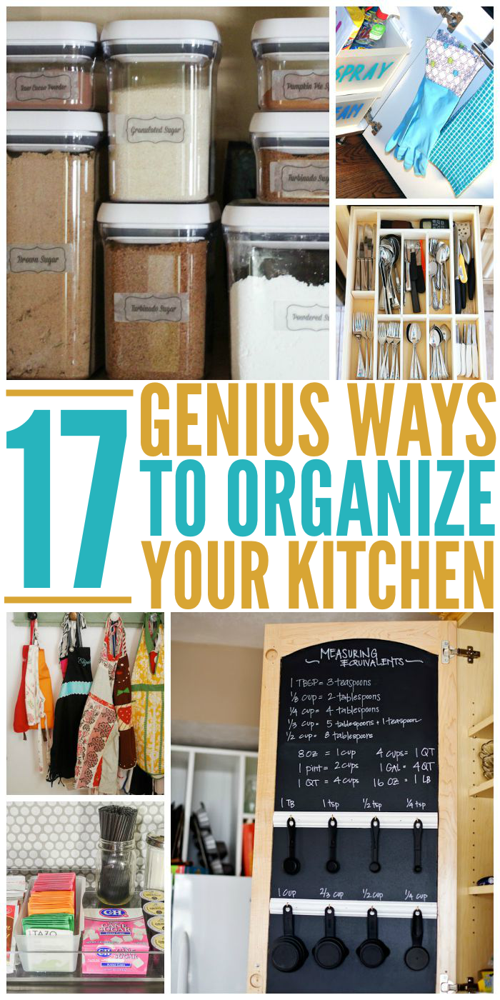 Genius Ways To Organize Your Kitchen