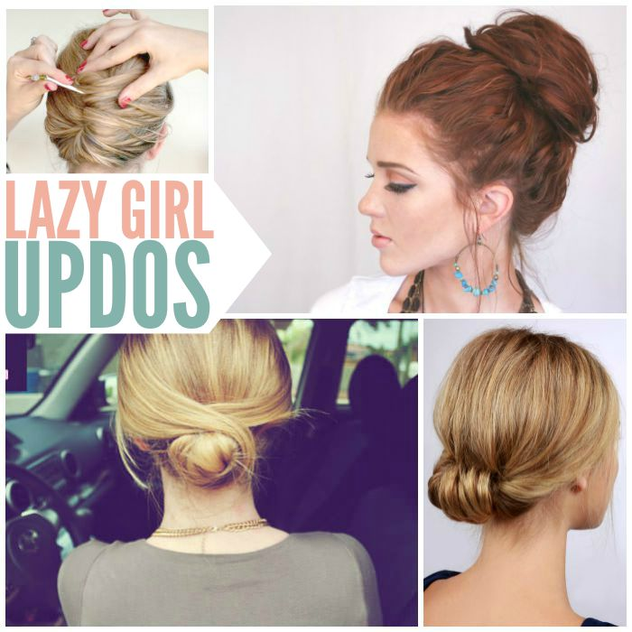Fabulous Updos That Take Seconds To Do
