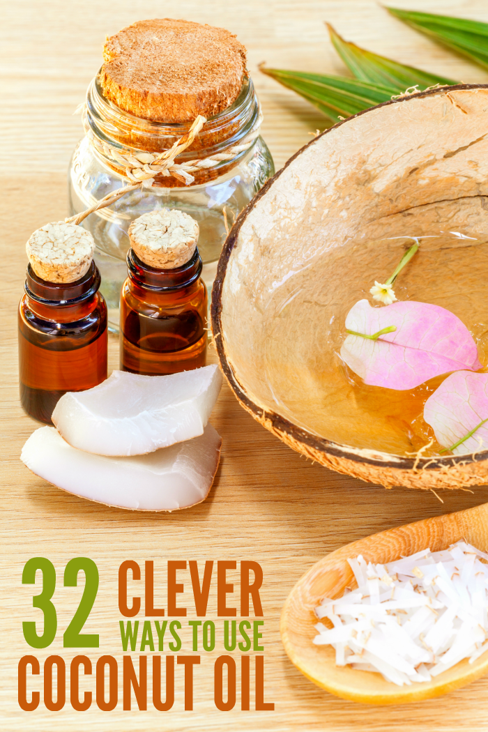32 Ways to Use Coconut Oil