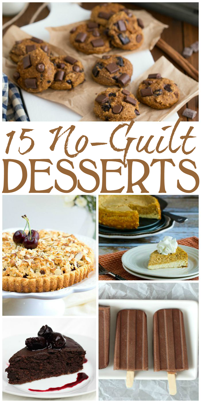No Guilt Desserts - Grab a spoon and dig in!