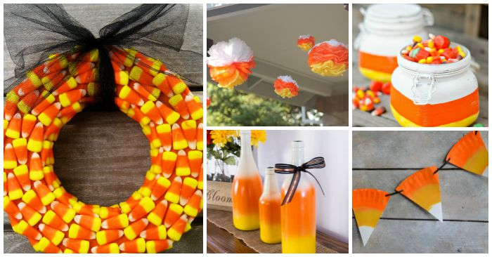 Image result for candy corn fall decor