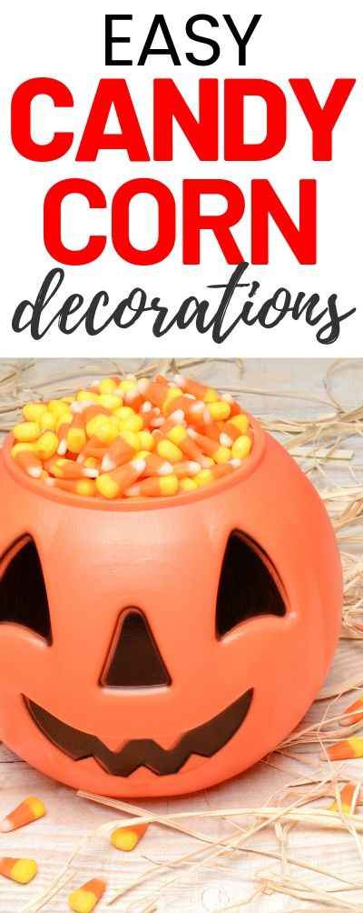 15 Candy Corn Inspired Decorations