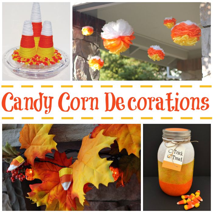 candy corn decorations for halloween - Candy Corn Halloween Decorations