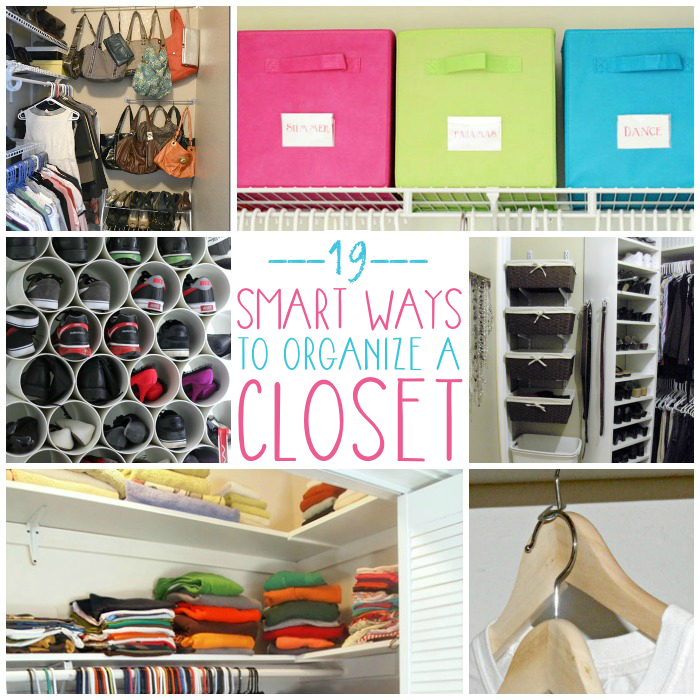 how to organize your closet - 19 Hacks that will show you how!