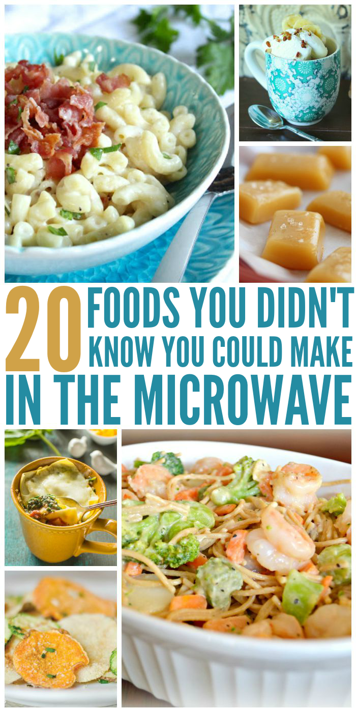 20 Foods You Didn't Know You Could Make in the Microwave