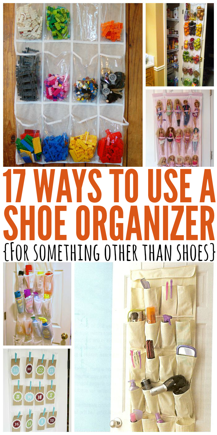 17 Genius ways to use a shoe organizer