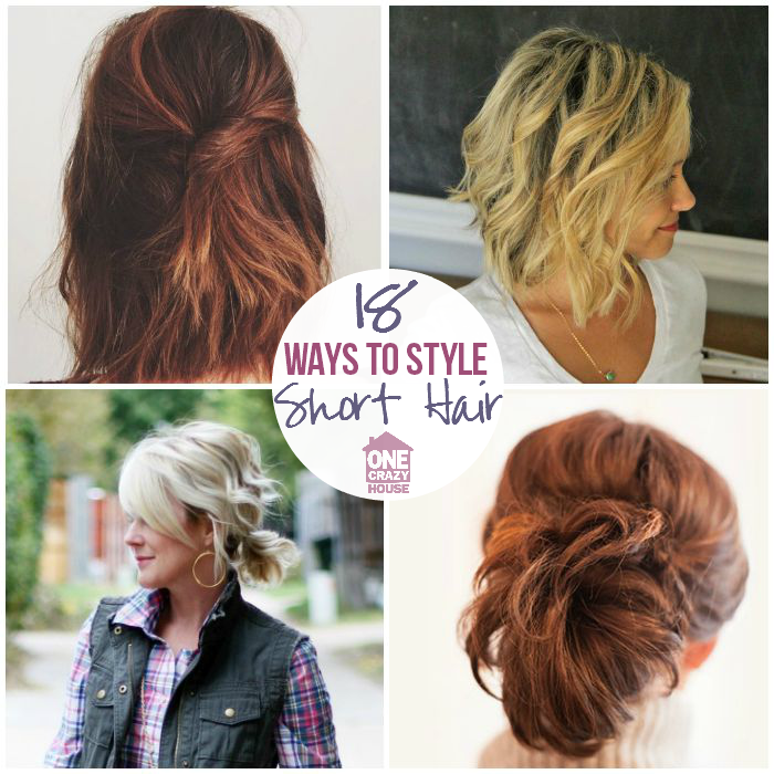 18 Easy Styles For Short Hair