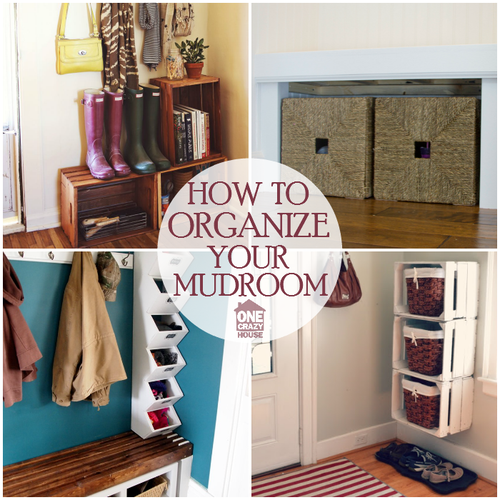 Mudroom organization ideas that will keep the rest of your for Organize cleaning your house