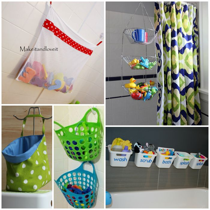 15 Ways to Store Bath Toys and Magically Declutter your Bathroom